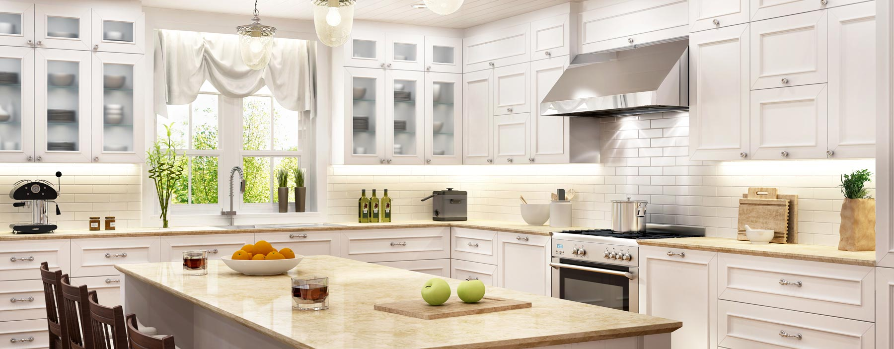 klasyczne stylowe meble kuchenne w warszawie